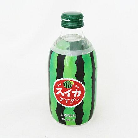 [敵富朗超市]友桝西瓜風味蘇打飲料(300ml) 1