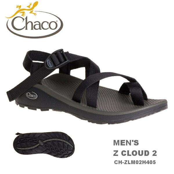 【速捷戶外】美國ChacoCH-ZLM02H405越野紓壓運動涼鞋-夾腳男款(黑色)ZCLOUD2,戶外涼鞋,運動涼鞋
