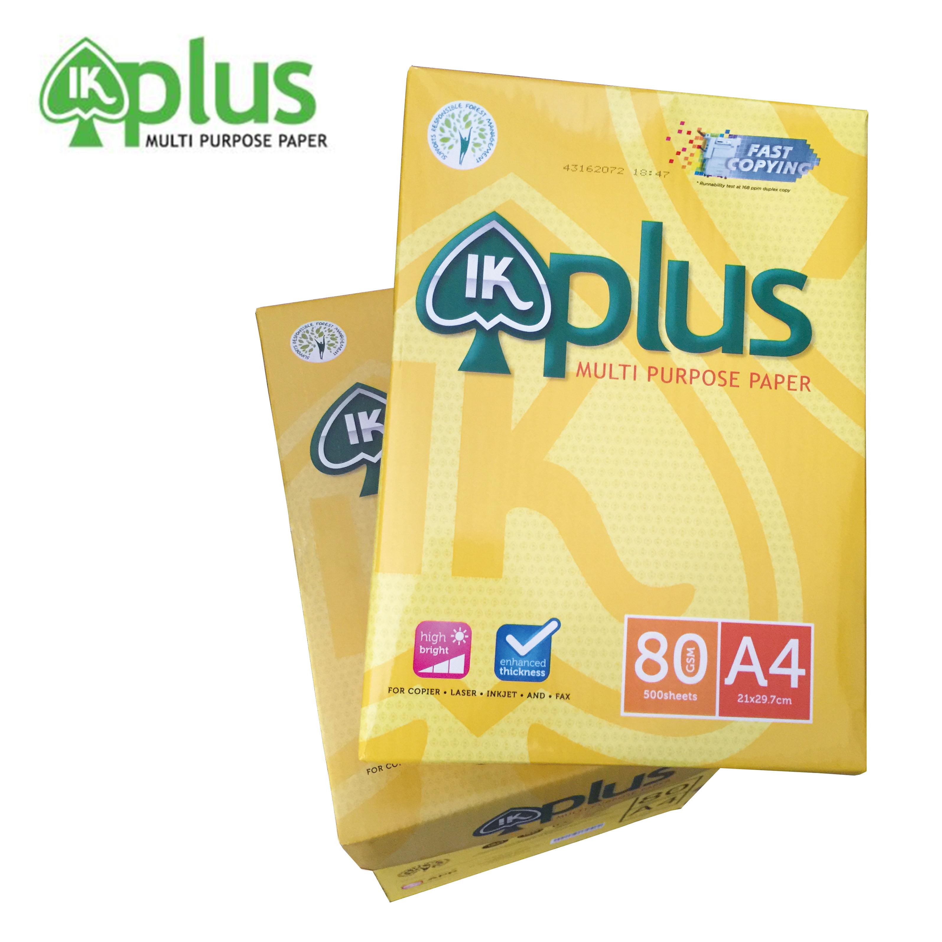 【IK-PLUS】  A4 影印紙 80磅 10包入/箱