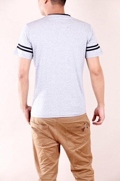 【CS衣舖 】韓系 合身版 萊卡彈力 短袖T恤 3104 3