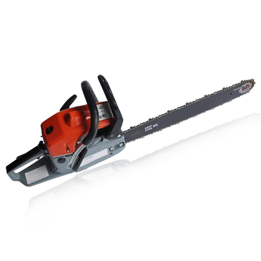 2 Stroke 52cc 20inch Saw Blade Petrol Chainsaw Outdoor Garden Yard Use with Tool Kit 2