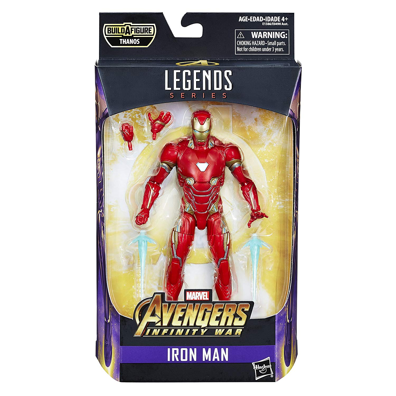 (卡司 正版現貨) Marvel Legends 復仇者聯盟3 無限之戰 鋼鐵人 馬克50 Mk50 6吋 可動