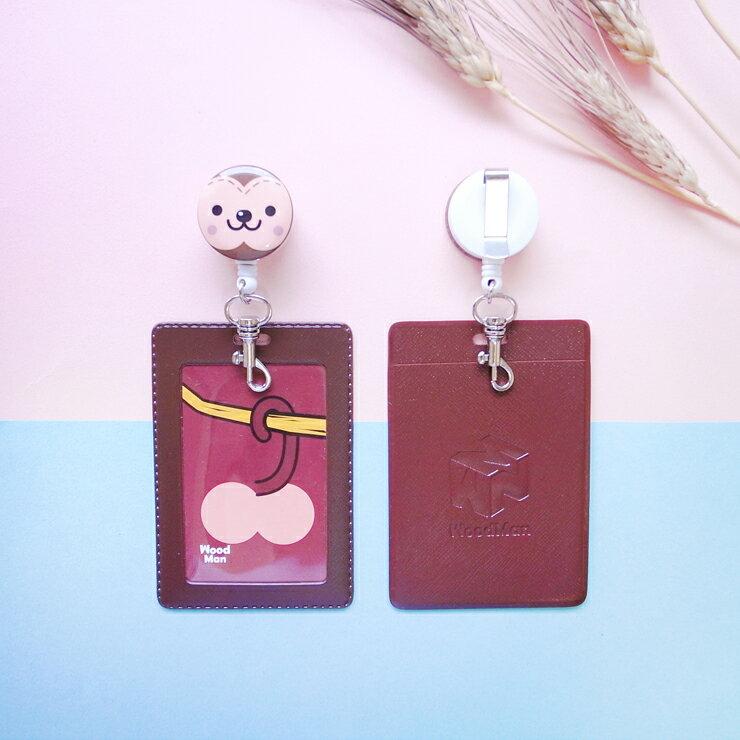 小猴子,夾式伸縮票卡夾