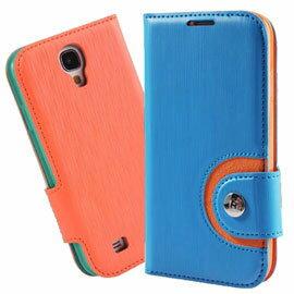 ~BASEUS 彩虹~三星 SAMSUNG Galaxy S4 i9500 倍思 撞色側掀