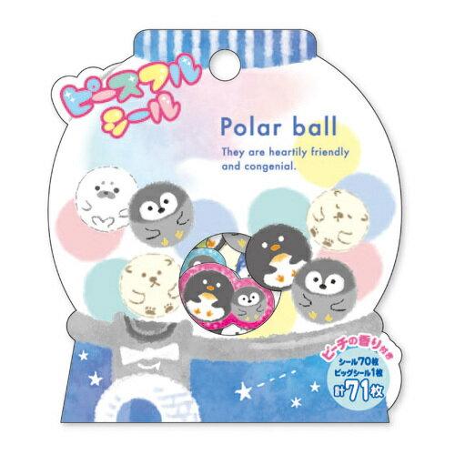 *小徑文化*日本進口 MIND WAVE 貼紙包 - Polar Ball ( 78206 )