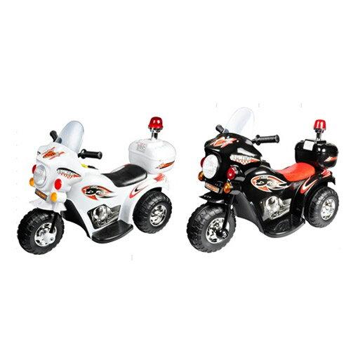 ~衛立兒 館~Ching Ching親親~ 皇家警察電動摩托車  兒童電動車 白色  黑色