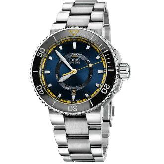 ORIS 豪利時 0173576734185-SetRS時間之海大堡礁限量表潛水腕錶/藍面46mm