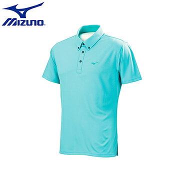 D2TA651623(冰晶藍X湖水藍)吸汗快乾 Dryscience 合身版型 男休閒短袖