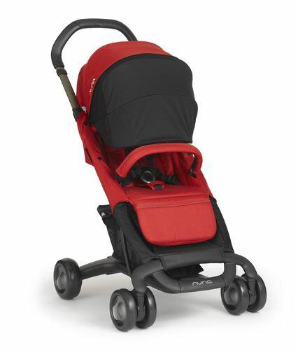 ★衛立兒生活館★Nuna 荷蘭 Pepp Luxx 二代時尚手推車(紅色)贈手提袋+可愛玩偶(隨機出貨)