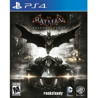 PS4 蝙蝠俠:阿卡漢騎士 英文美版 Batman: Arkham Knight (附特典)