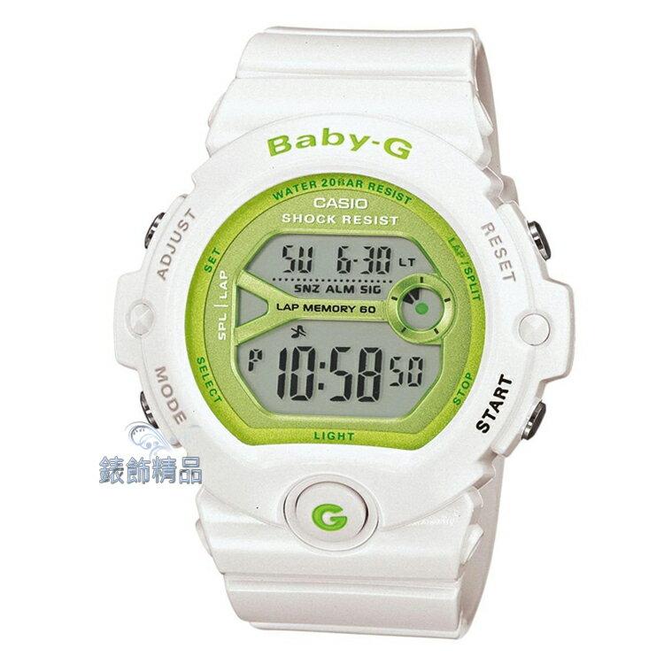 【錶飾精品】現貨卡西歐CASIO Baby-G慢跑運動甜心 60組馬錶 BG-6903-7正品BG-6903-7DR禮物