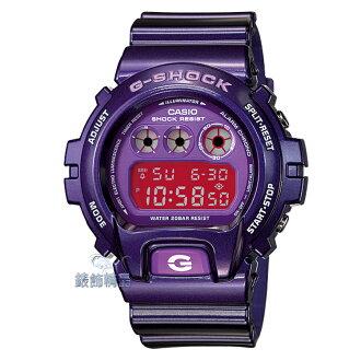 【錶飾精品】現貨卡西歐CASIO G-SHOCK CRAZY COLOR系列 DW-6900CC-6 紫框桃紅 正品