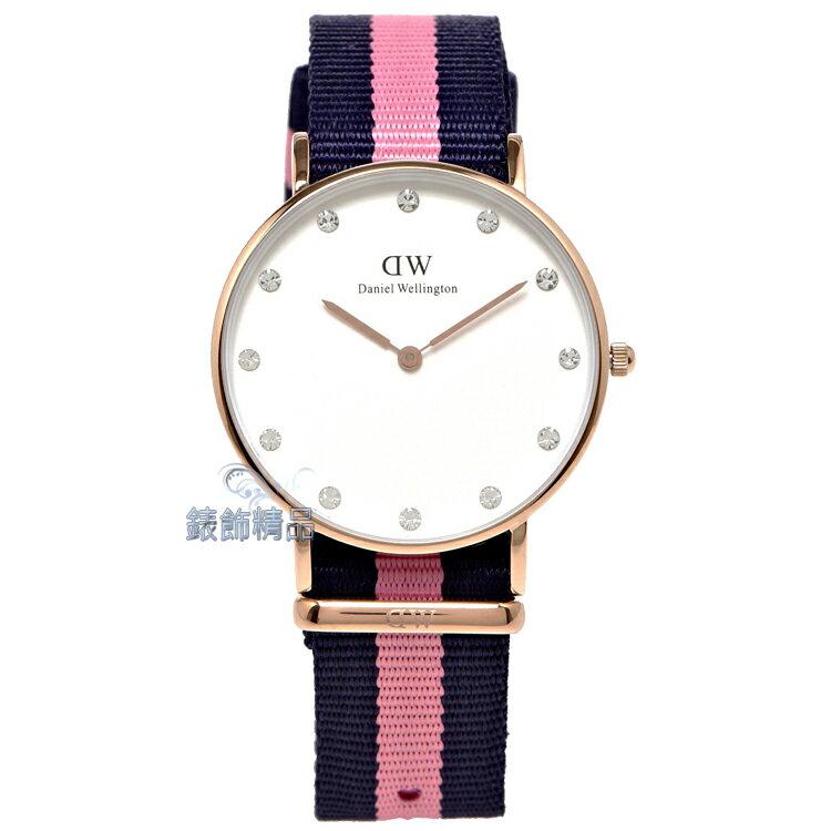 【錶飾精品】現貨 瑞典DW手錶Daniel Wellington DW00100077金 Winchester 34mm