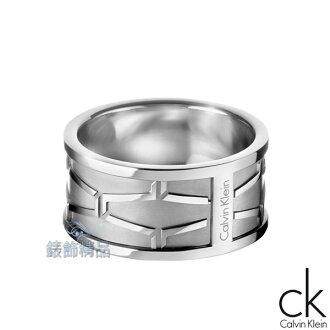 【錶飾精品】Calvin Klein CK飾品 ck男性戒指-abstract解構系列316L白鋼 KJ3BMR0001情人 生日禮物
