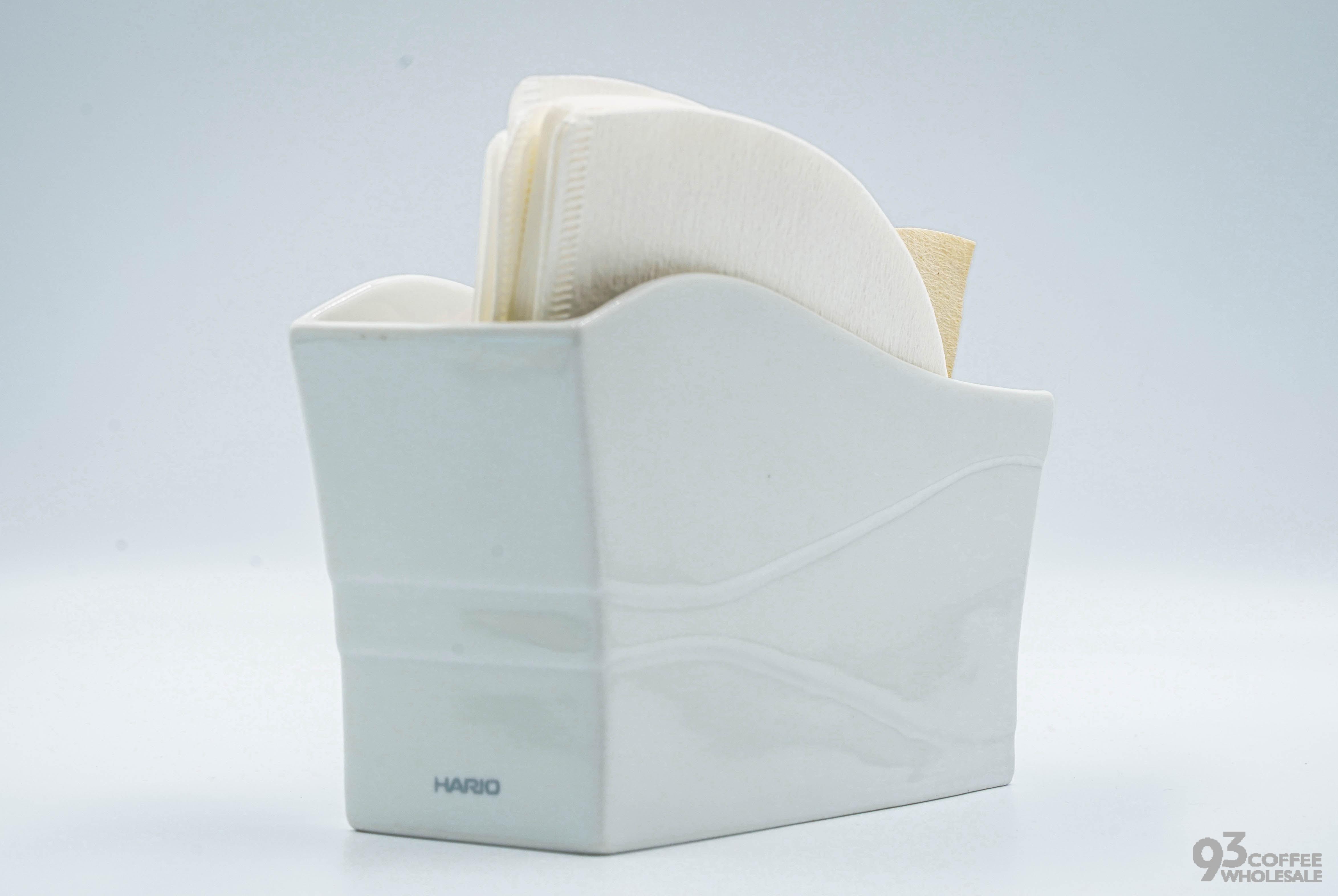 Hario 陶瓷濾紙架 有田燒 濾紙專用架 VPS-100W 『93 coffee wholesale』