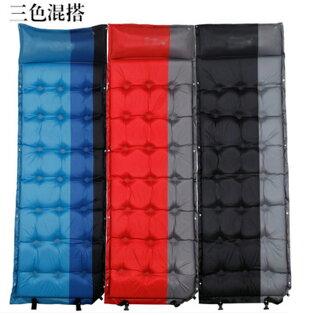 【露營趣】中和 TNR-219 充氣睡墊 充氣床 露營墊 5公分可拼接附枕頭修補片