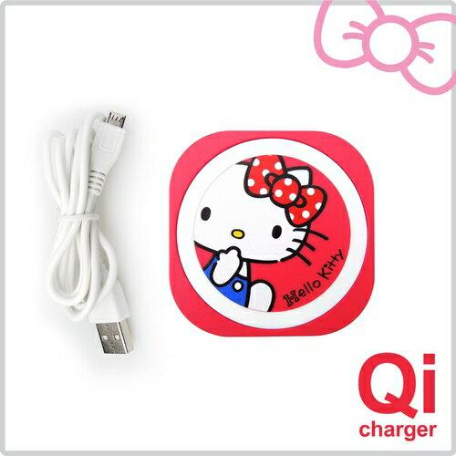 HelloKitty迷你無線充電板-紅(POWER-i8-KTR)【三井3C】