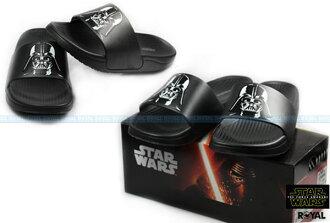 Star Wars 星際大戰 新竹皇家 黑武士 黑色 PU發泡 拖鞋 男款 NO.A7506