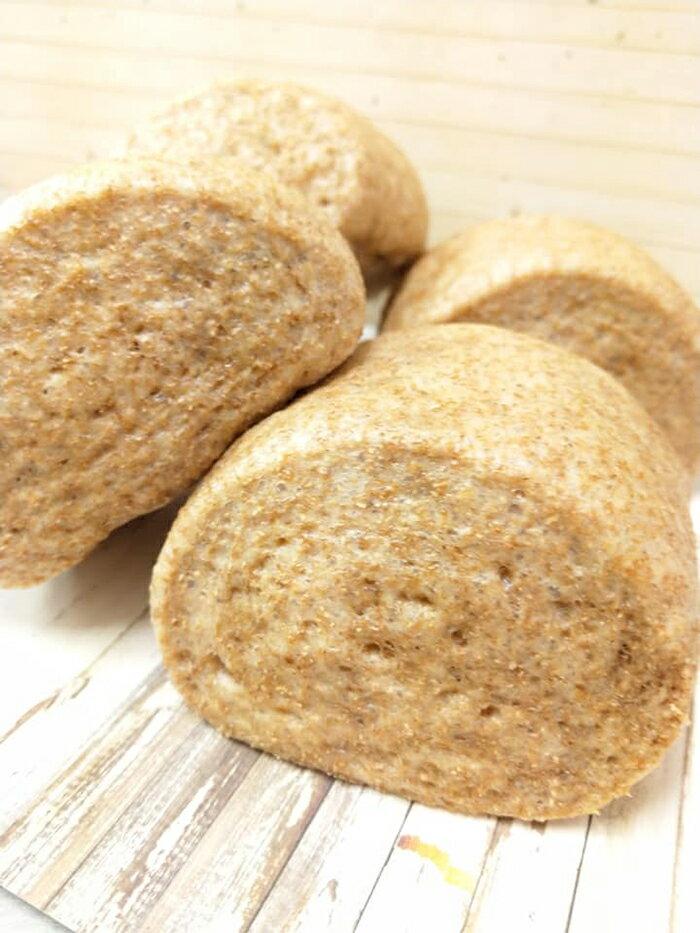 【吉芳包子饅頭】純麥100%無糖養生饅頭/5袋