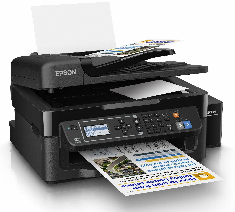 ~ 活動~EPSON L565 WIFI 傳真七合1連續供墨印表機 四色墨水1組 L120