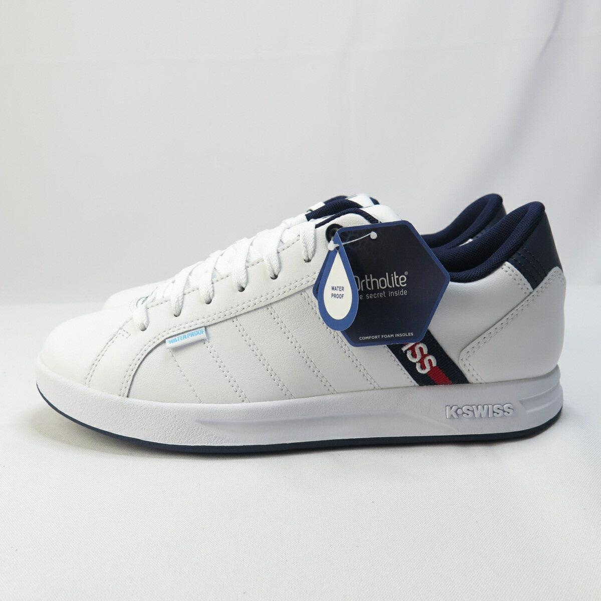 K-SWISS LUNDAHL WP EM 休閒鞋 防潑水 公司貨 06780113 男款 白【iSport 愛運動】