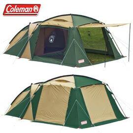 《台南悠活運動家》Coleman 美國 4-5人子母帳 網帳和帳篷一體成型 CM-1415J