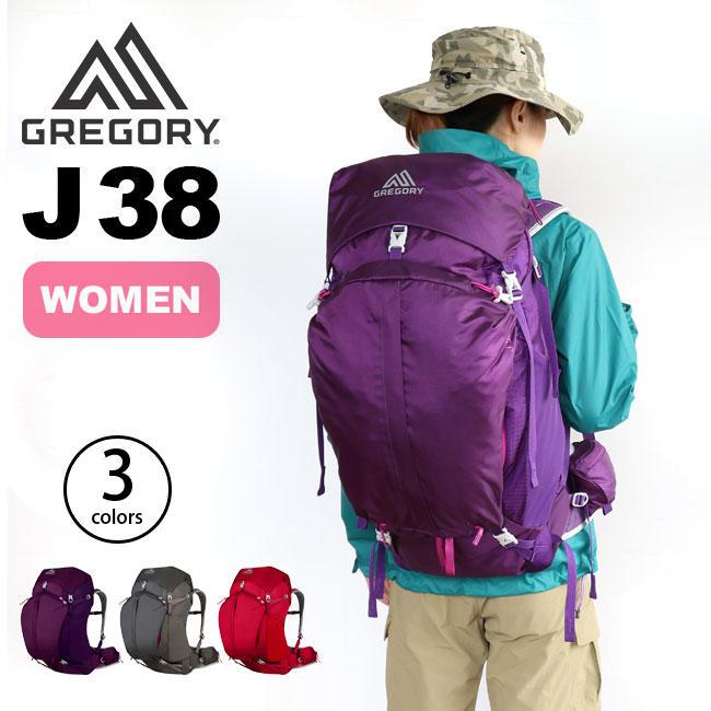 ├登山樂┤美國 GREGORY J38 專業登山背包 (紫灰紅三色可選) # 65621/65622/65623