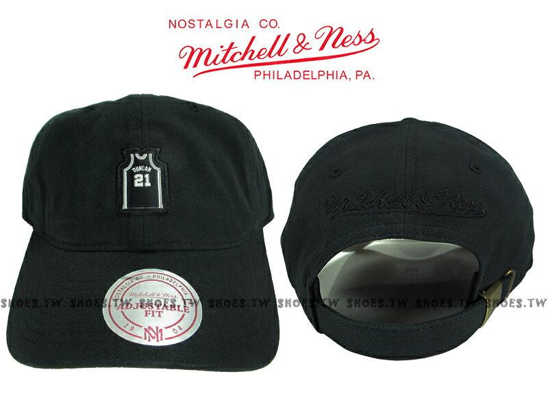 《下殺6折》Shoestw【5056133900248】Mitchell & Ness 老帽 SNAPBACK 馬刺隊 球衣 黑色 0