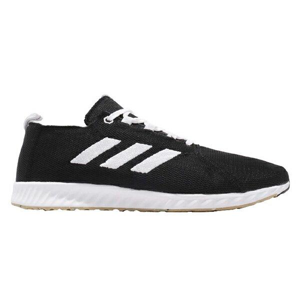 ADIDAS EPM run m 慢跑鞋 針織 輕量 透氣網布 黑色 男生【BD7086】
