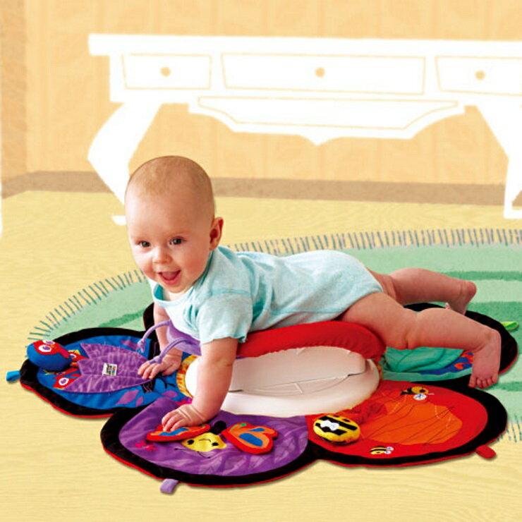 美國Lamaze拉梅茲嬰幼兒玩具 地墊轉轉樂【寶貝樂園】