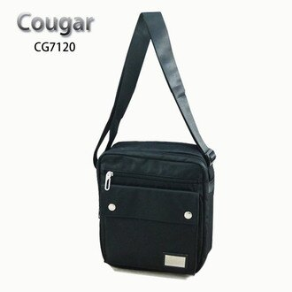 【加賀皮件】COUGAR 美洲豹 防潑水 水晶布 多收納 休閒包 側背包 斜背包 CG-7120