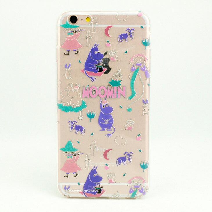 TPU手機殼-Moomin嚕嚕米授權【歡樂谷的秋夜】《 iPhone/ASUS/HTC/LG 》