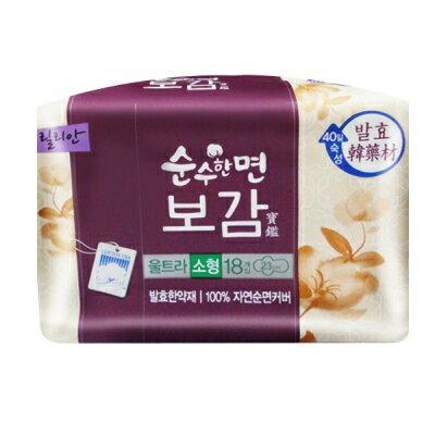 韓國秀智代言-莉蓮漢方衛生棉(23cm/18片) K800