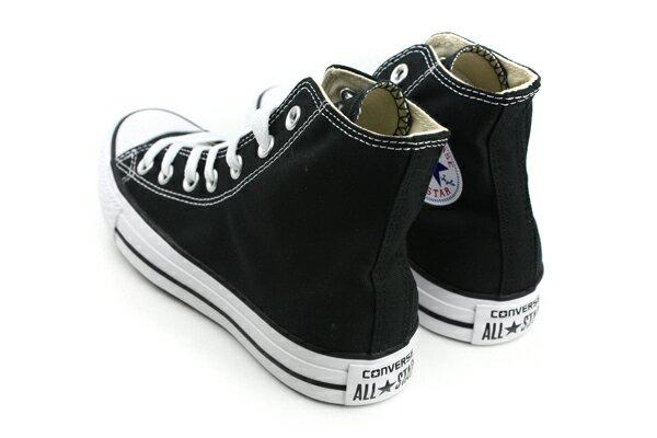 CONVERSE ALL STAR HIGH 帆布鞋 黑 男女款 M9160C no986 1
