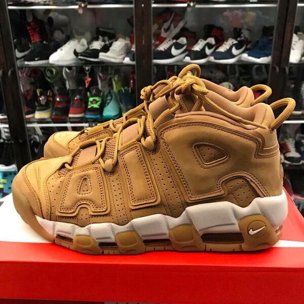 BEETLE PLUS:男鞋BEETLENIKEAIRMOREUPTEMPOWHEATFLAX小麥大AIRAA4060-200