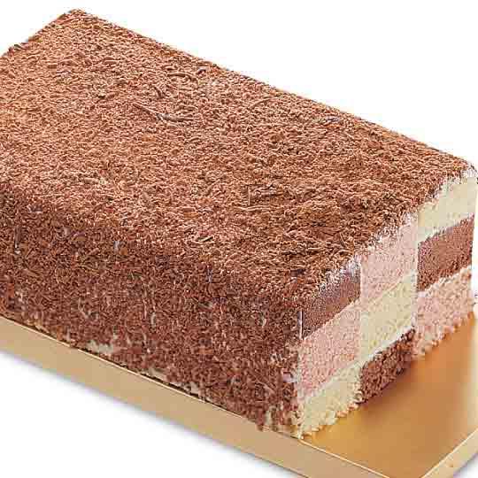 【喜之坊】三色格子蛋糕(長19CMX直徑6CM)★ - 限時優惠好康折扣