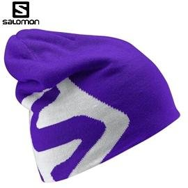 [ Salomon ] Flat Spin II Beanie 帽 藍 / 雙面帽 / 編織帽 / 公司貨 353011
