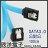 ※ 欣洋電子 ※  SATA3.0 硬碟傳輸線(SATA-3) 傳送速度6GB / 100cm / 加鐵片 / L型 - 限時優惠好康折扣