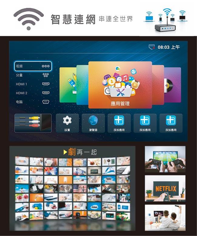 含基本安裝 山水 SANSUI SLHD-5522 LED 液晶顯示器 55吋 電視 螢幕 4K 3