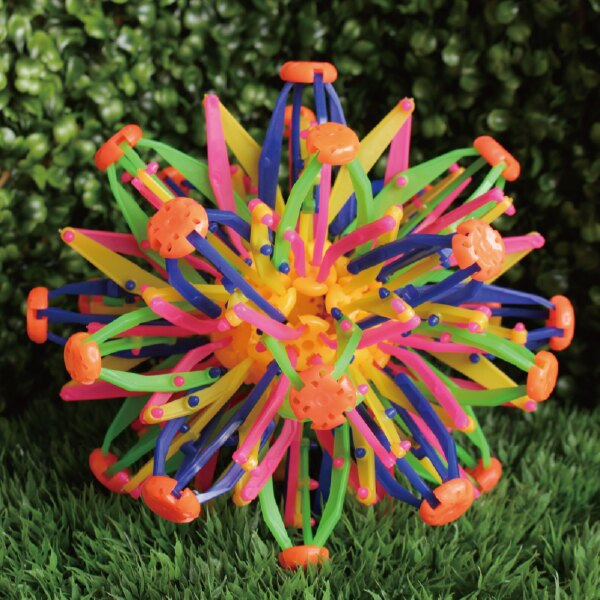 魔術伸縮球 魔術球 散花球 拋接球 開花球 兒童玩具 開學考試獎勵 戶外休閒活動 手抓開花球 變形球 親子同樂