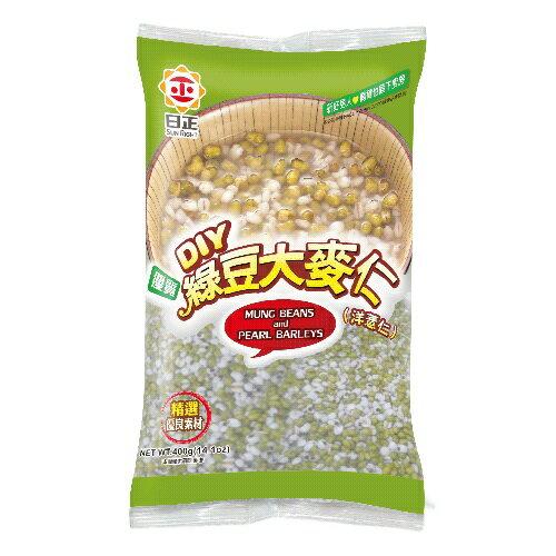 日正 綠豆大麥仁(洋薏仁) 400g (24入) / 箱【康鄰超市】 1
