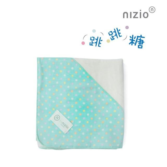 【Nizio】跳跳糖嬰兒四層紗浴包巾(4色可選)