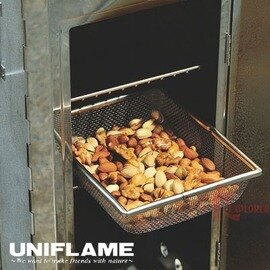 ├登山樂┤日本不鏽鋼煙燻網籃#U666012