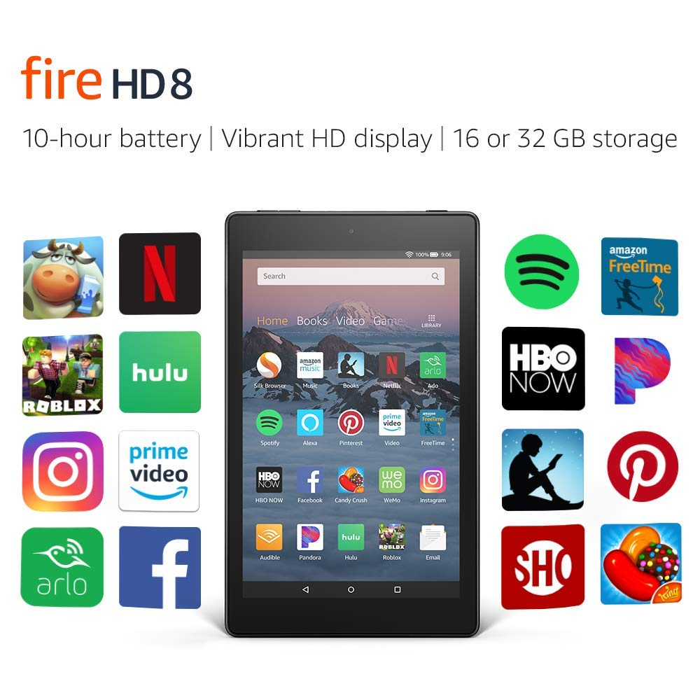 New Amazon Kindle Fire HD 8 Tablet | 16 GB 8
