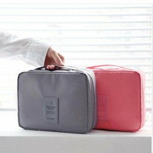 美麗大街【BF325E2E876】多功能帶隔板旅行收納洗漱包化妝包(不挑色)
