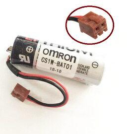 CS1W-BAT01 3.6V 帶2P棕色接頭 Omron PLC不可充電鋰電池(含稅)【佑齊企業 iCmore】