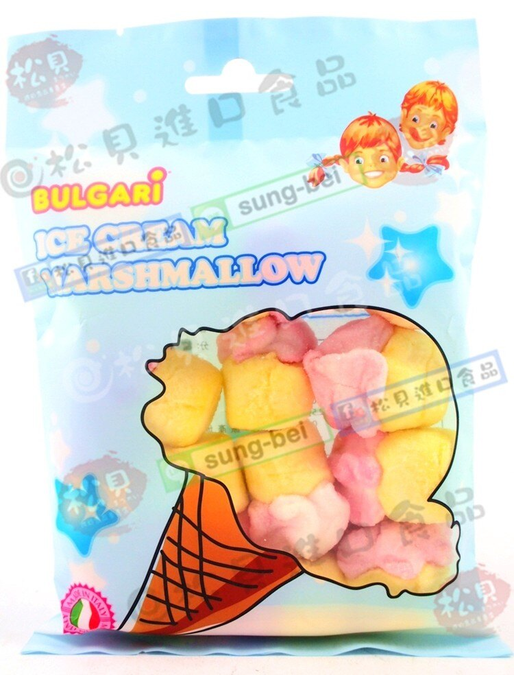 寶格麗冰淇淋棉花糖105g【8006908008225】