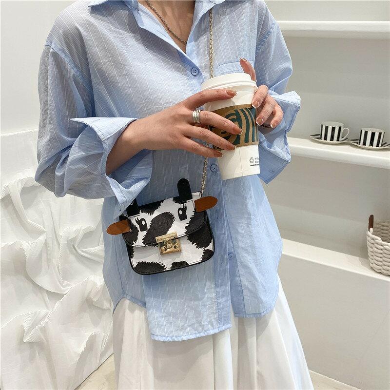 今年流行上新小清新可愛小包2021夏季新款時尚洋氣單肩斜挎小方包