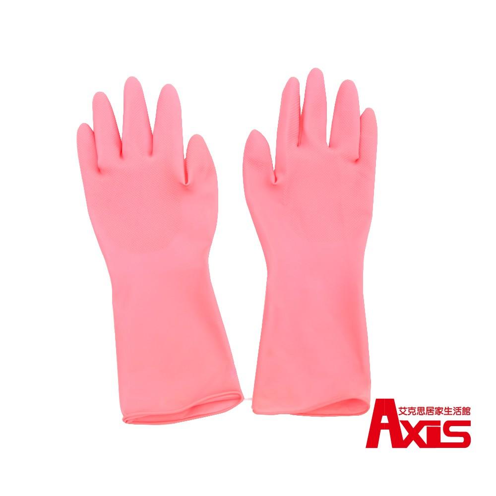 《艾克思》天然乳膠雙面止滑不分左右手手套_2雙組 0