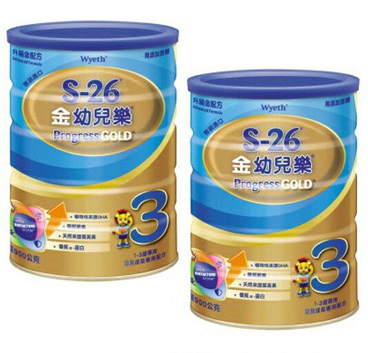 惠氏金幼兒樂 升級金配方900g 2入【德芳保健藥妝】